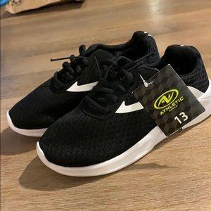 Black & White Gym Shoe